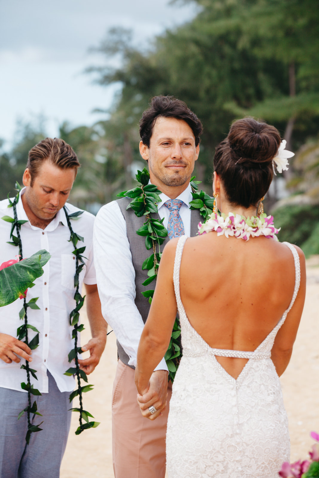 Princeville Hanelei Kauai Hawaii Destination Elopement Wedding 21