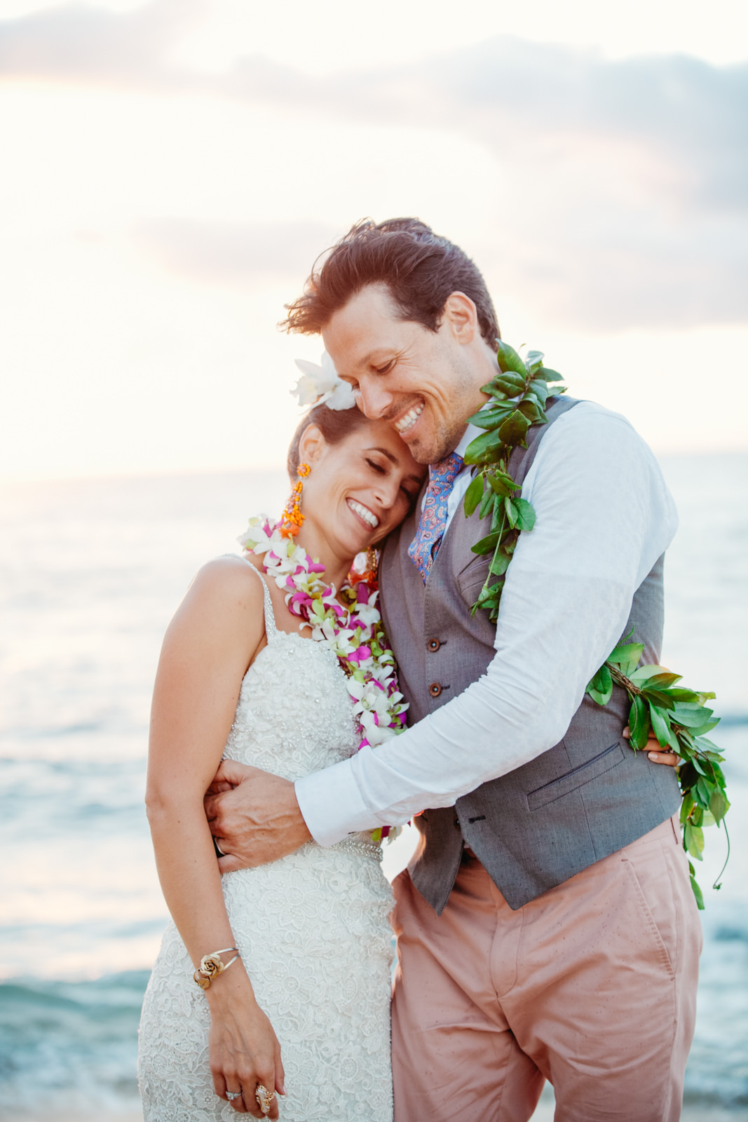 Princeville Hanelei Kauai Hawaii Destination Elopement Wedding 39