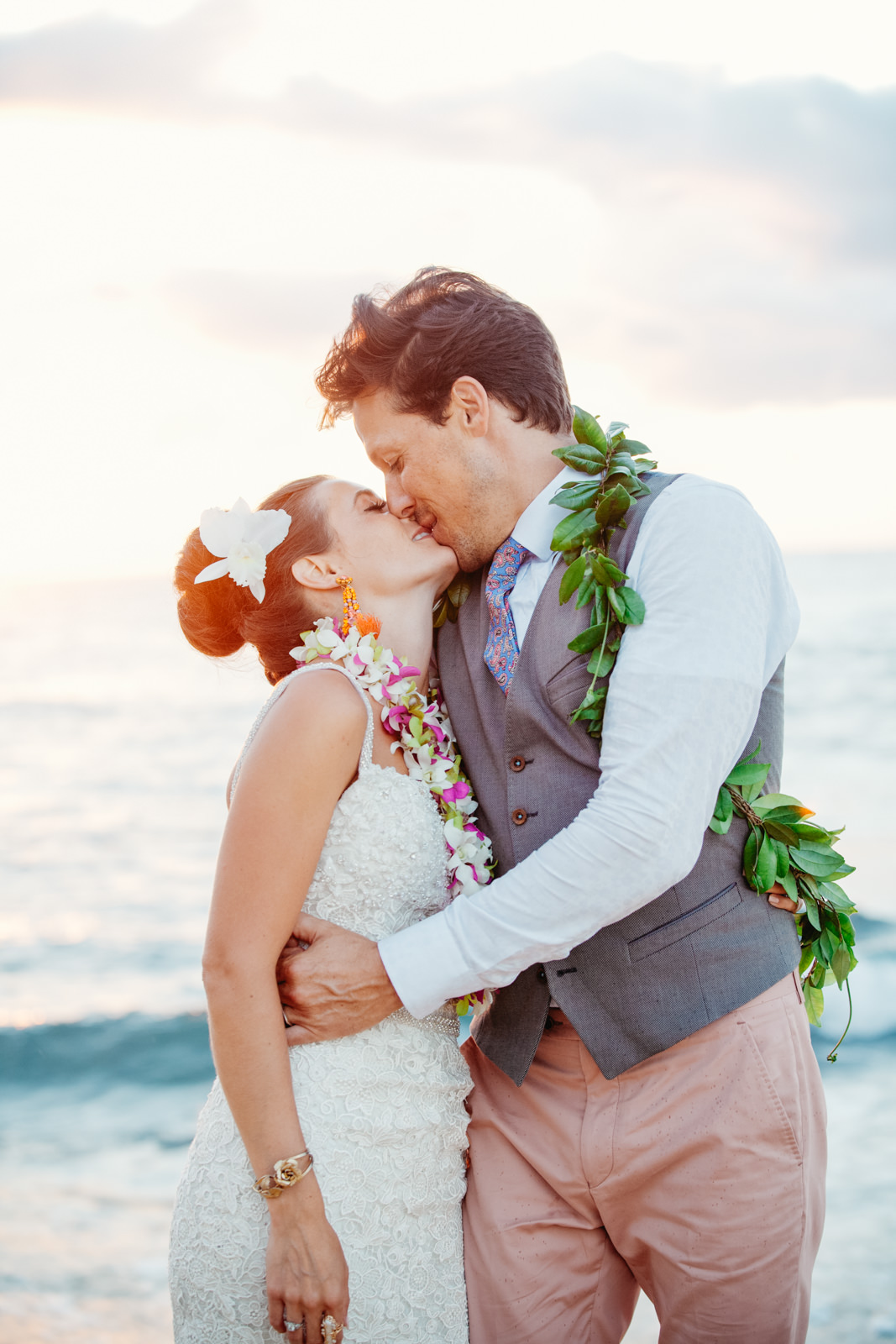 Princeville Hanelei Kauai Hawaii Destination Elopement Wedding 40