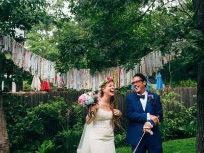 Sarah + Allan // Southampton Backyard Wedding, NY