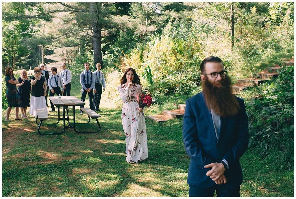 Ashley George Vermonth DIY Backyard Forest Wedding_0001