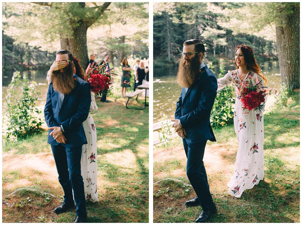 Ashley George Vermonth DIY Backyard Forest Wedding_0002