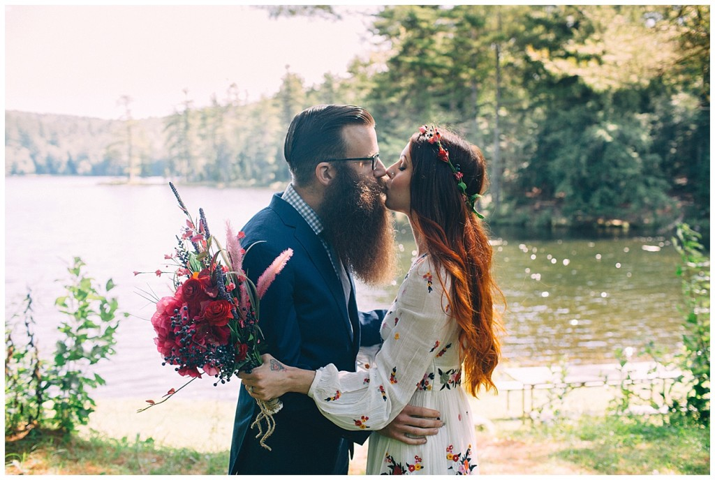 Ashley George Vermonth DIY Backyard Forest Wedding_0004