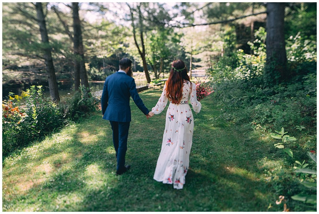 Ashley George Vermonth DIY Backyard Forest Wedding_0005