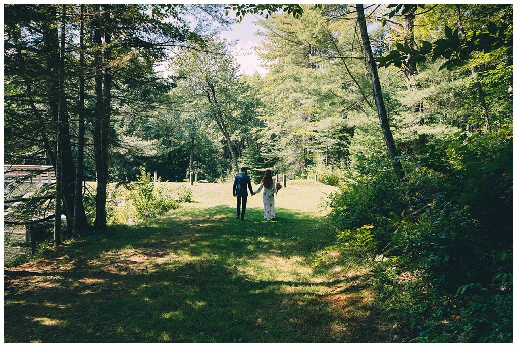Ashley George Vermonth DIY Backyard Forest Wedding_0007