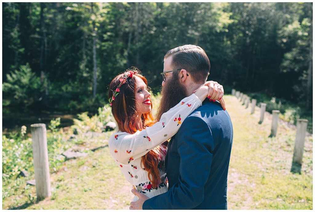 Ashley George Vermonth DIY Backyard Forest Wedding_0009
