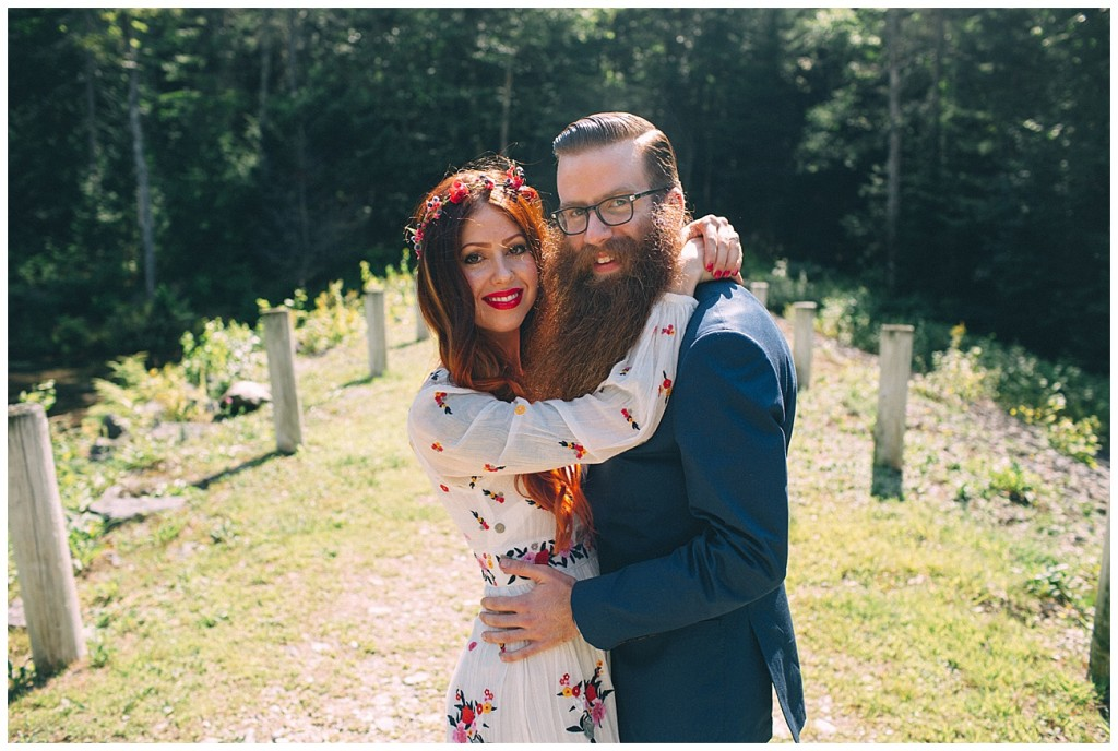 Ashley George Vermonth DIY Backyard Forest Wedding_0010