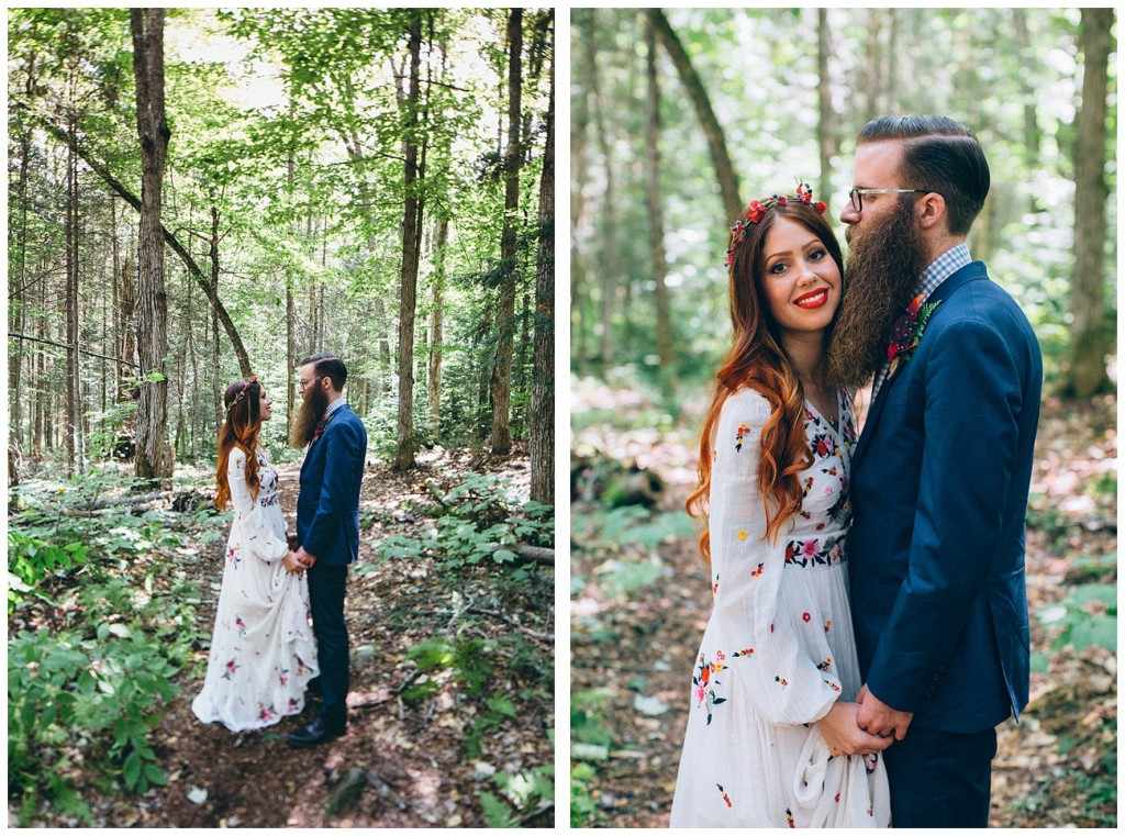 Ashley George Vermonth DIY Backyard Forest Wedding_0013