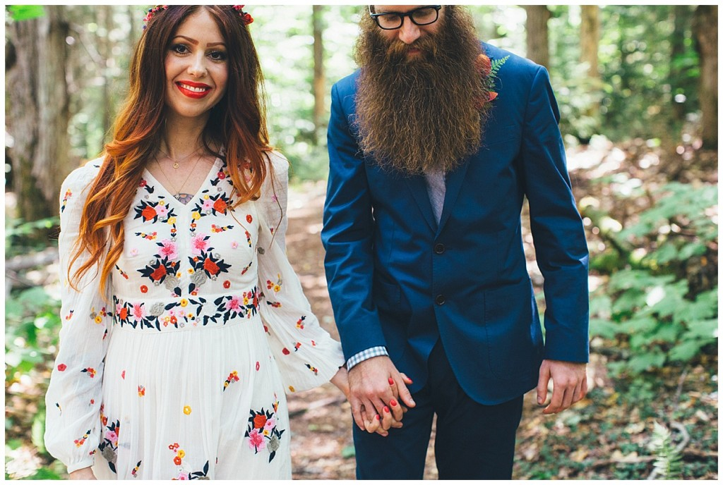 Ashley George Vermonth DIY Backyard Forest Wedding_0014