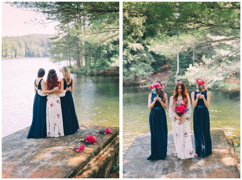 Ashley George Vermonth DIY Backyard Forest Wedding_0018