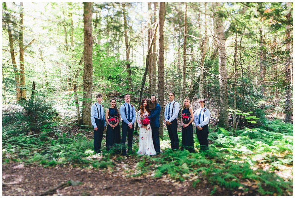 Ashley George Vermonth DIY Backyard Forest Wedding_0021