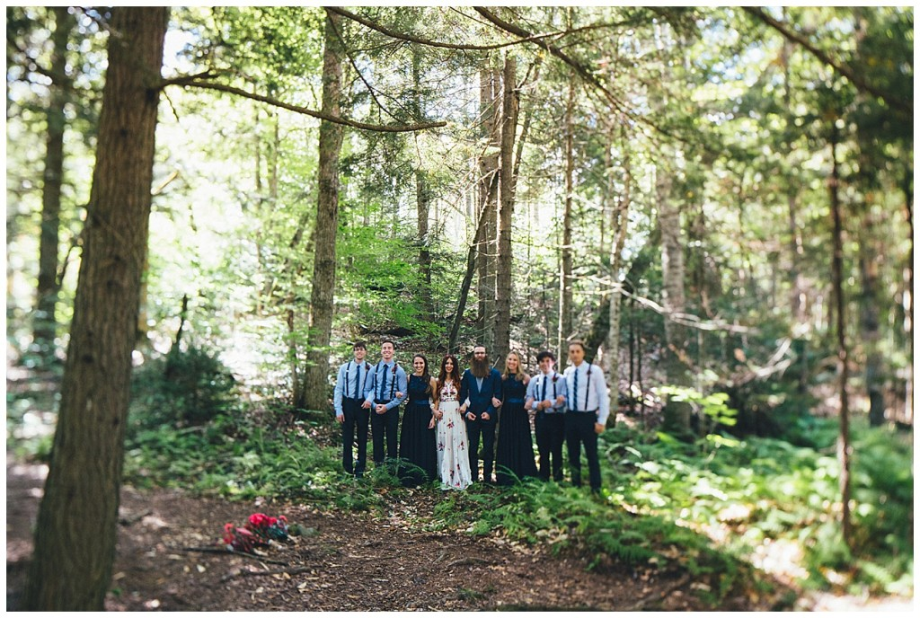 Ashley George Vermonth DIY Backyard Forest Wedding_0022