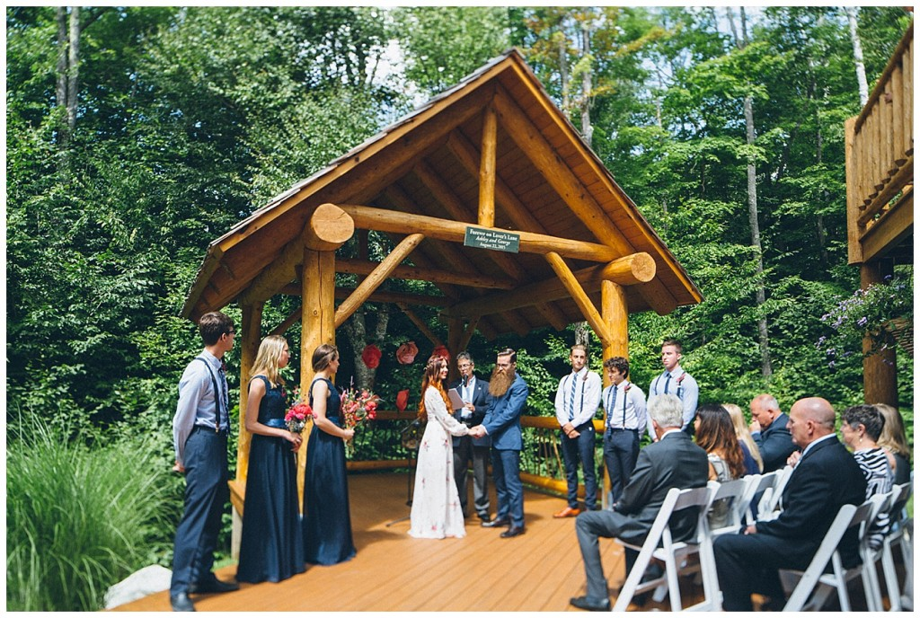 Ashley George Vermonth DIY Backyard Forest Wedding_0038