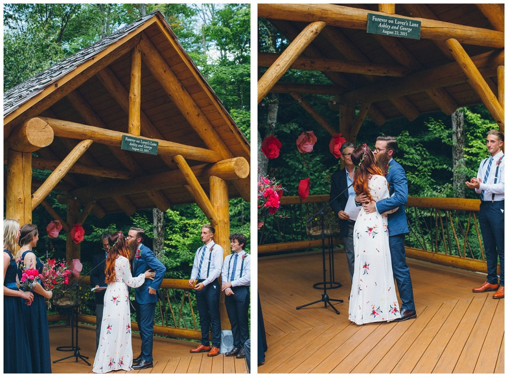 Ashley George Vermonth DIY Backyard Forest Wedding_0040