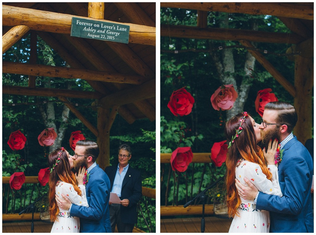 Ashley George Vermonth DIY Backyard Forest Wedding_0042
