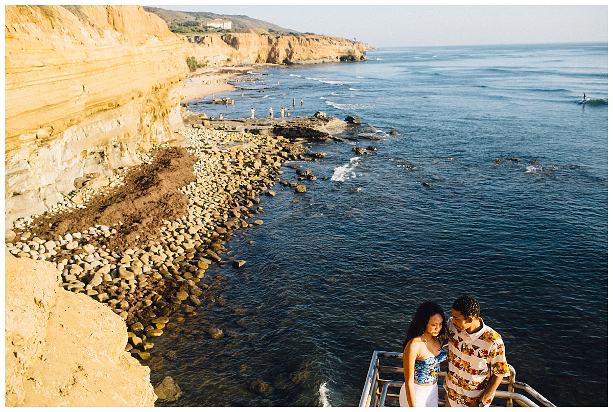 San Diego Sunset Cliffs Engagement Shoot Martina Micko Photo_0006