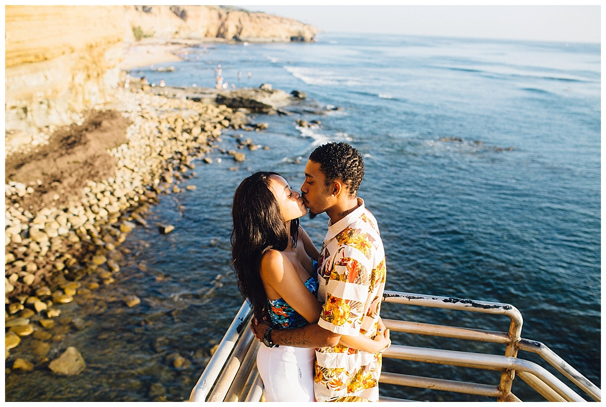 San Diego Sunset Cliffs Engagement Shoot Martina Micko Photo_0007