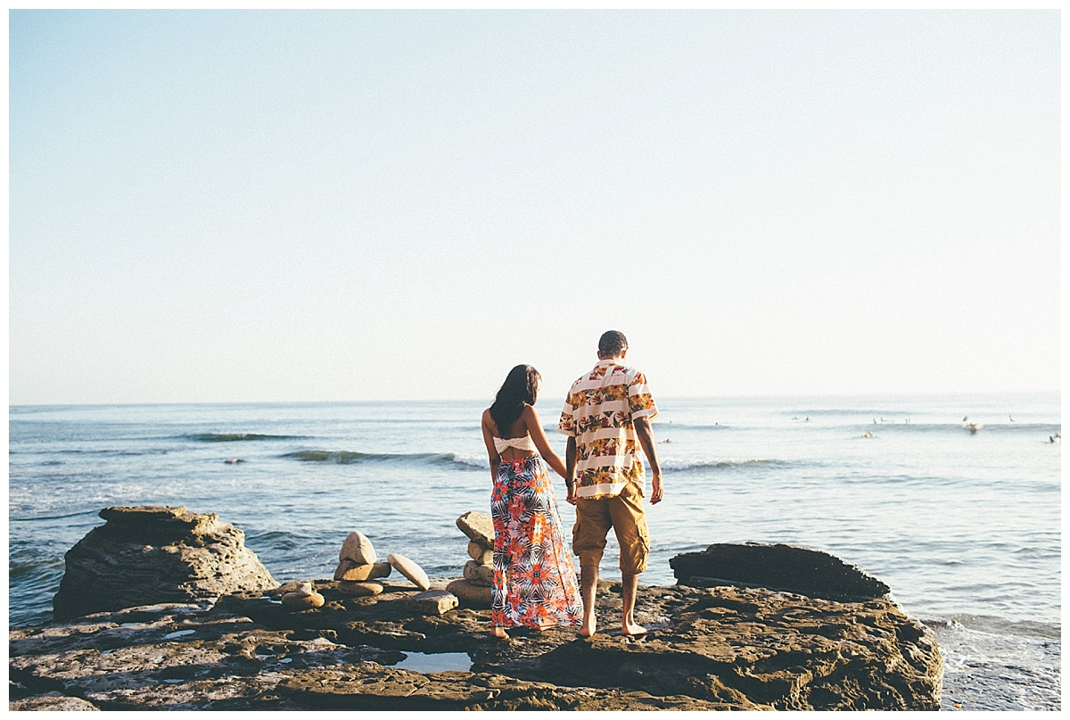 San Diego Sunset Cliffs Engagement Shoot Martina Micko Photo_0008