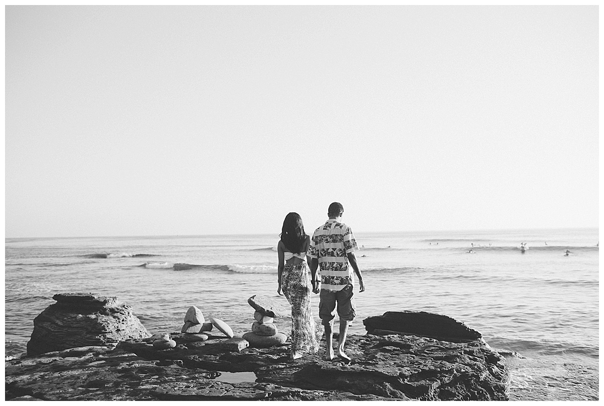 San Diego Sunset Cliffs Engagement Shoot Martina Micko Photo_0009