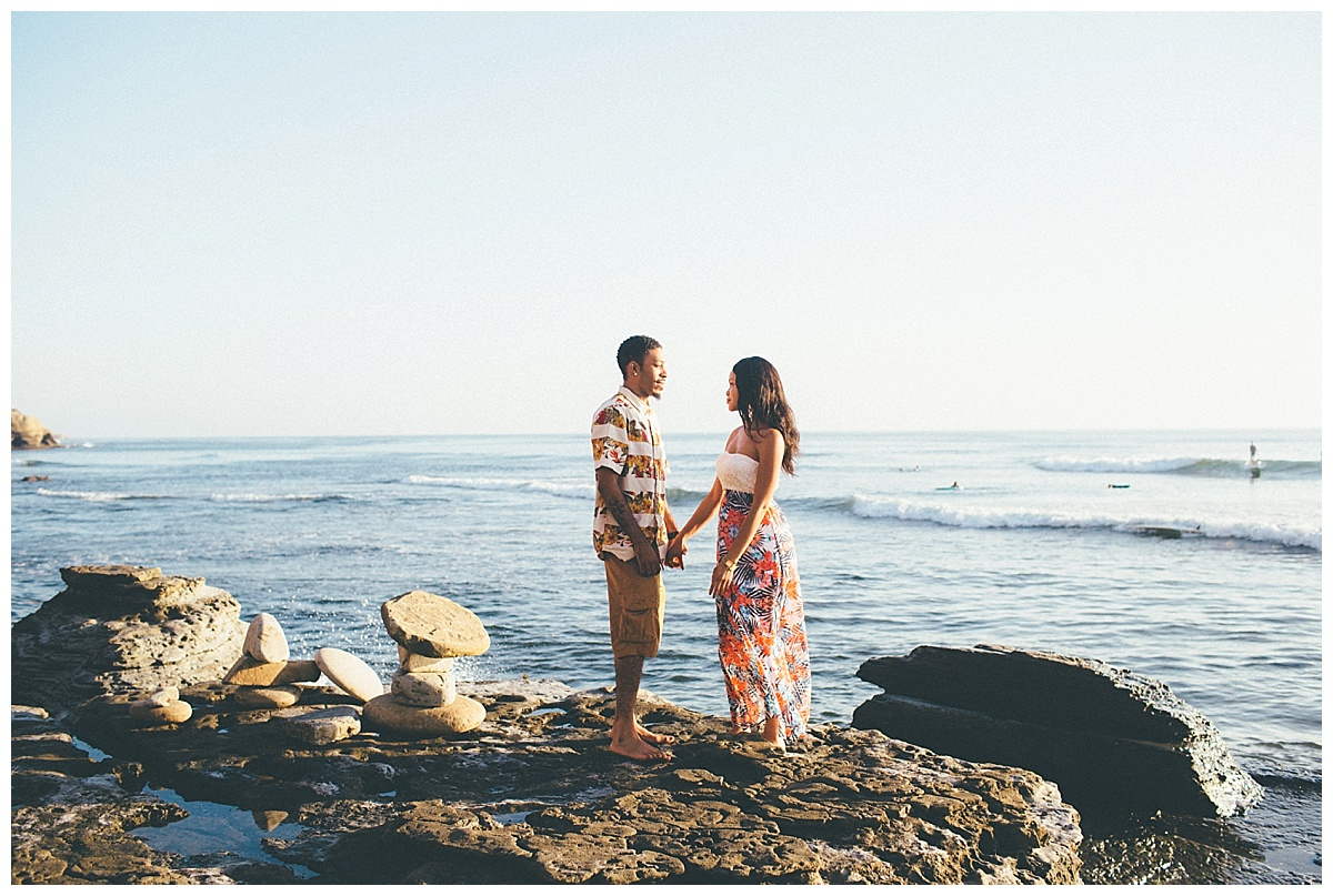 San Diego Sunset Cliffs Engagement Shoot Martina Micko Photo_0010
