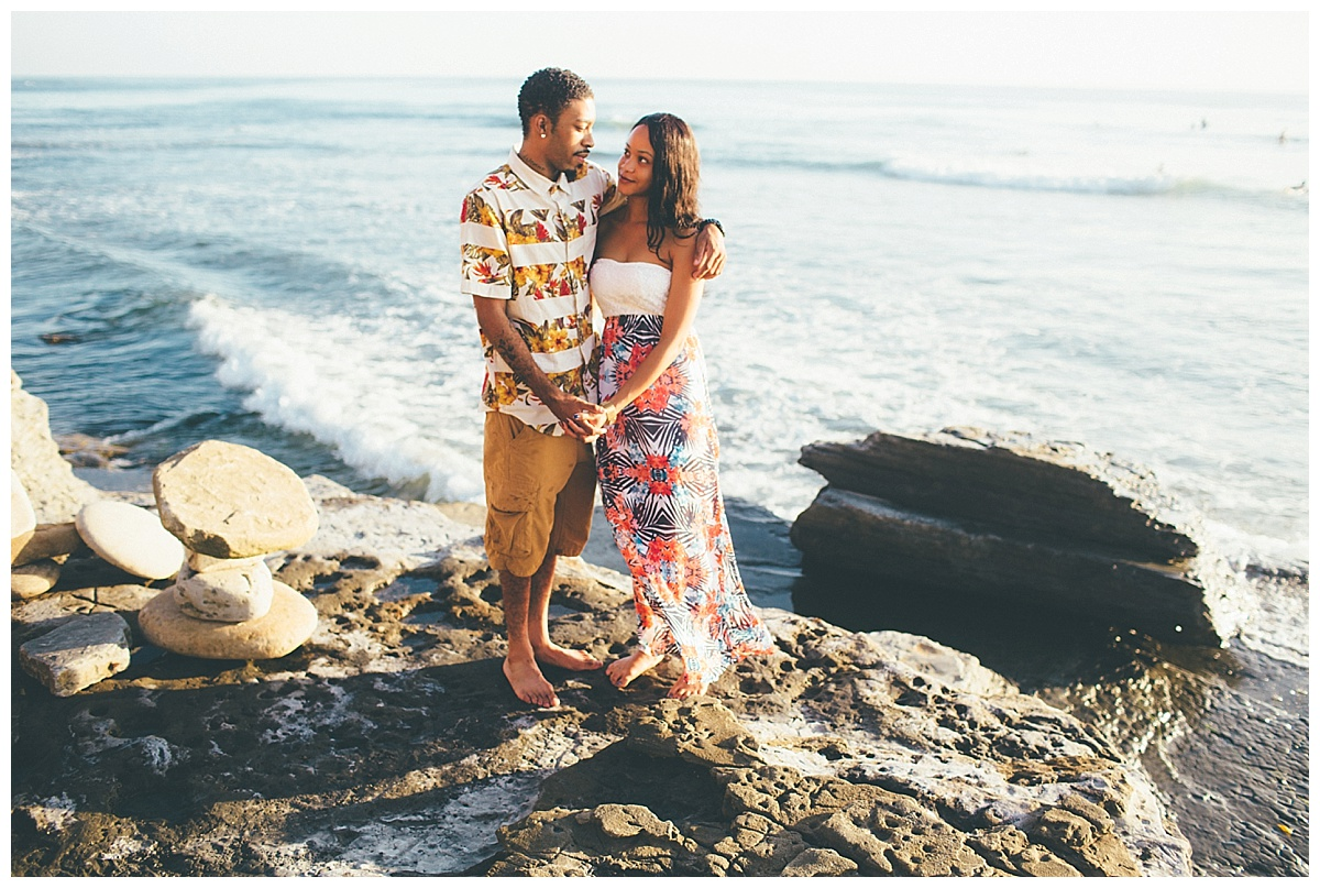 San Diego Sunset Cliffs Engagement Shoot Martina Micko Photo_0011