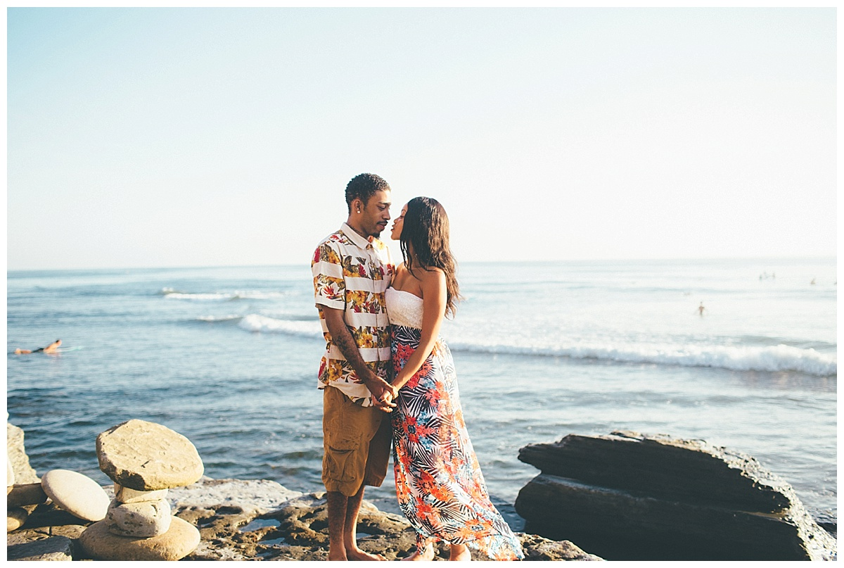 San Diego Sunset Cliffs Engagement Shoot Martina Micko Photo_0012