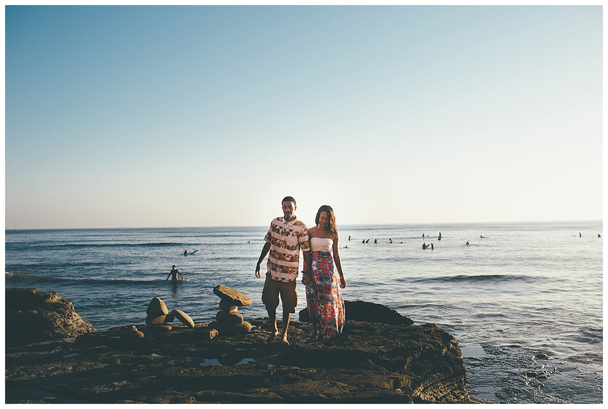 San Diego Sunset Cliffs Engagement Shoot Martina Micko Photo_0013