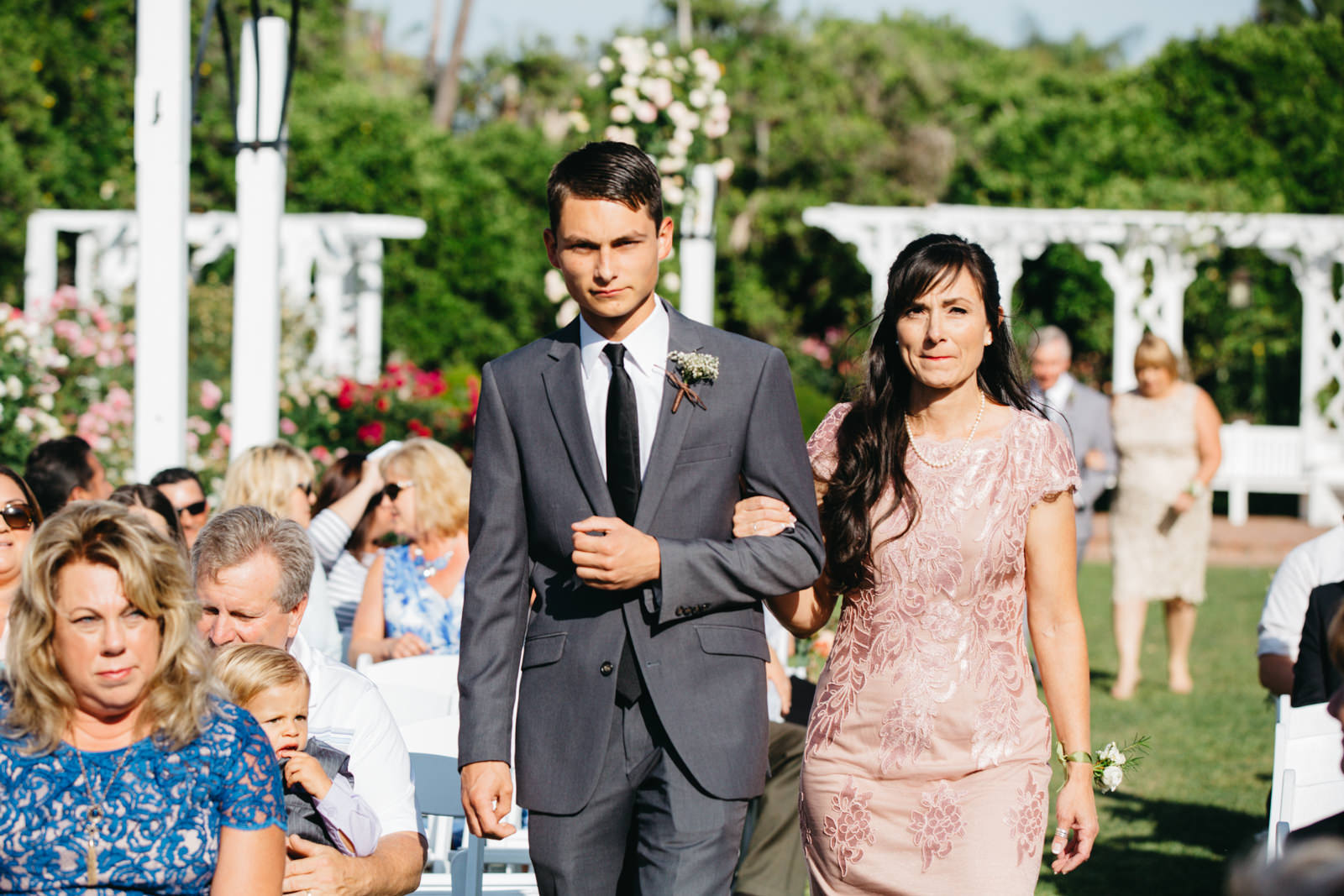 LA Los Angeles Arboretum Garden Wedding 14