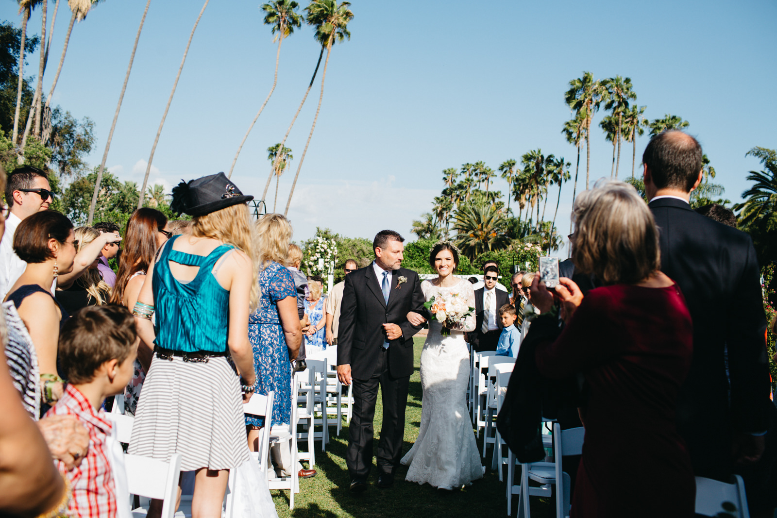 LA Los Angeles Arboretum Garden Wedding 16