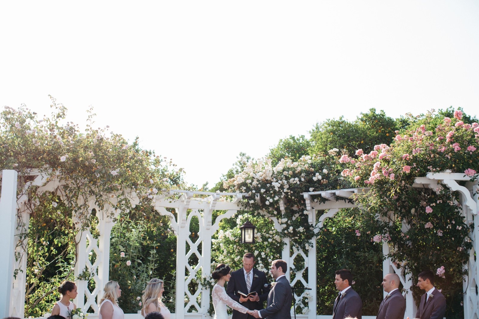 LA Los Angeles Arboretum Garden Wedding 18