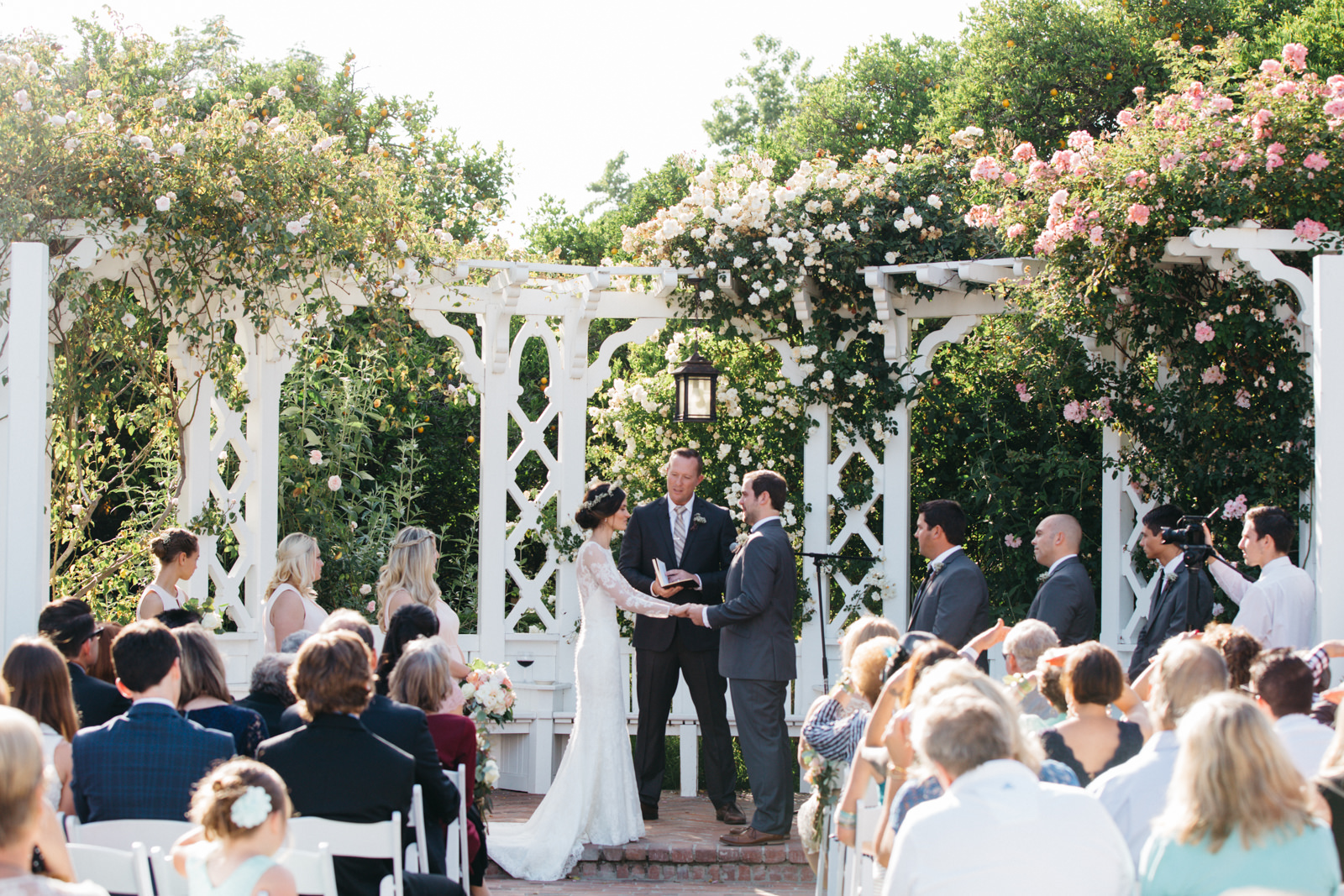 LA Los Angeles Arboretum Garden Wedding 20