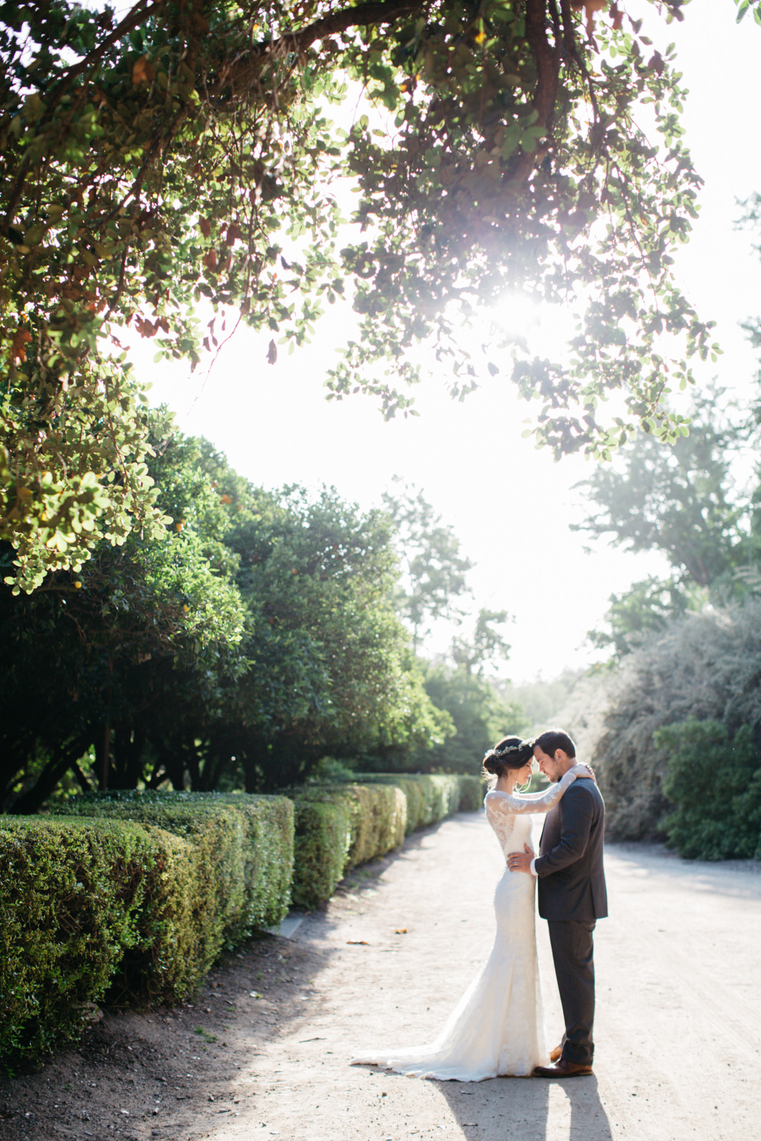 LA Los Angeles Arboretum Garden Wedding 30