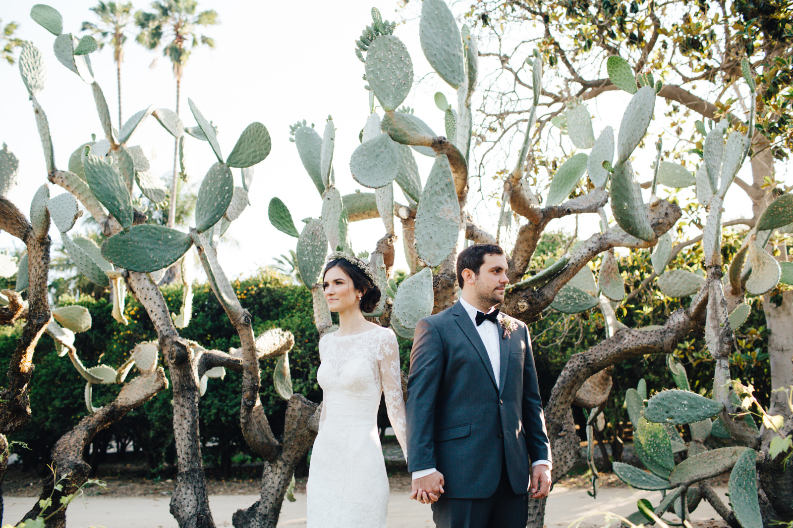 LA Los Angeles Arboretum Garden Wedding 33