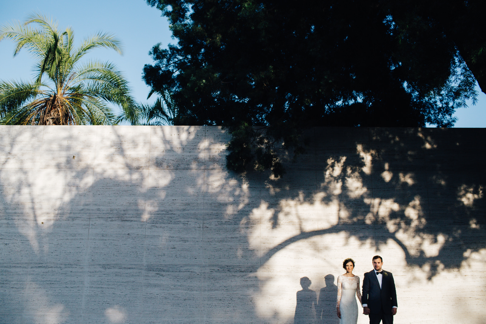 LA Los Angeles Arboretum Garden Wedding 43