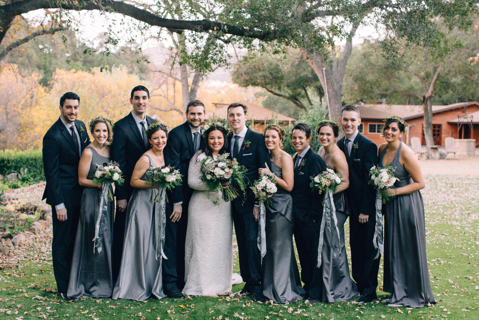 Oak Canyon Ranch Destinaiton Wedding Maliby Canyon   22
