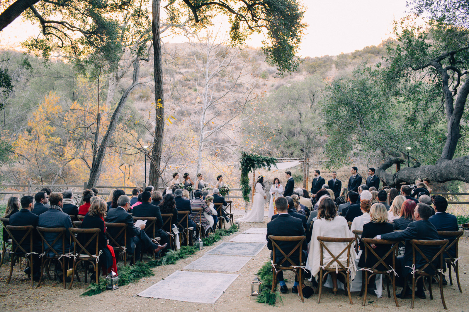 Oak Canyon Ranch Destinaiton Wedding Maliby Canyon   30