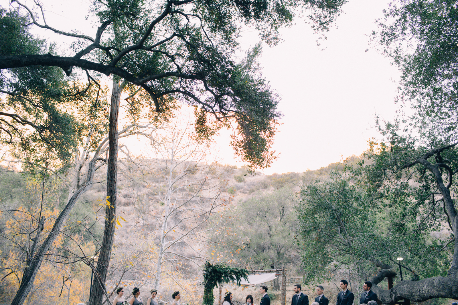 Oak Canyon Ranch Destinaiton Wedding Maliby Canyon   31