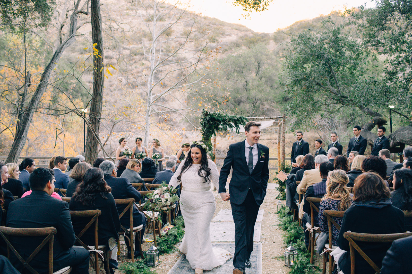 Oak Canyon Ranch Destinaiton Wedding Maliby Canyon   37