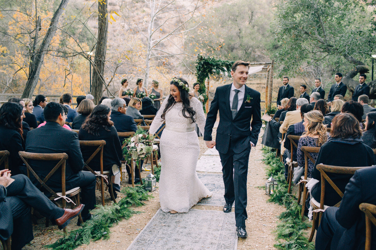 Oak Canyon Ranch Destinaiton Wedding Maliby Canyon   38