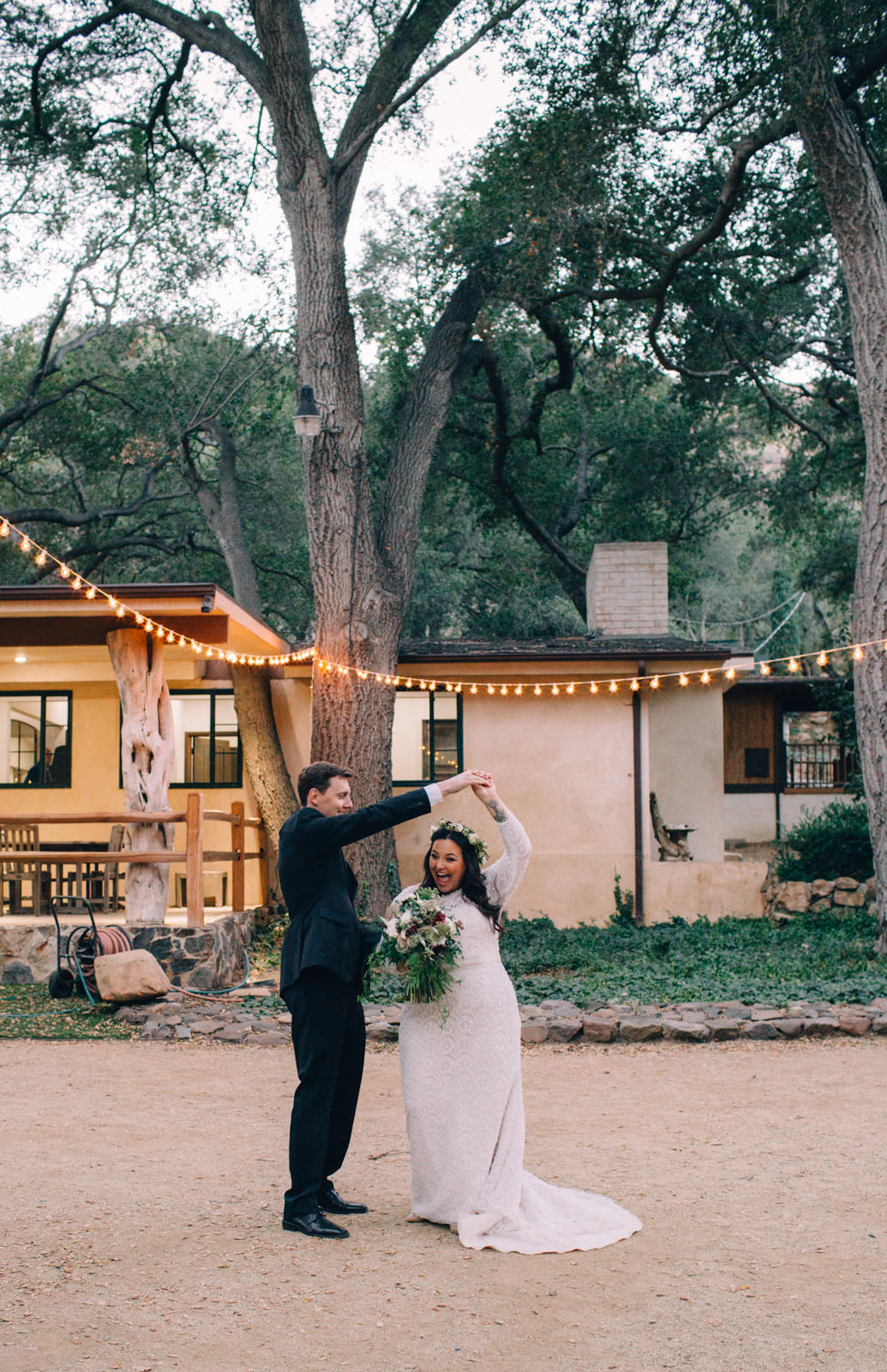 Oak Canyon Ranch Destinaiton Wedding Maliby Canyon   41