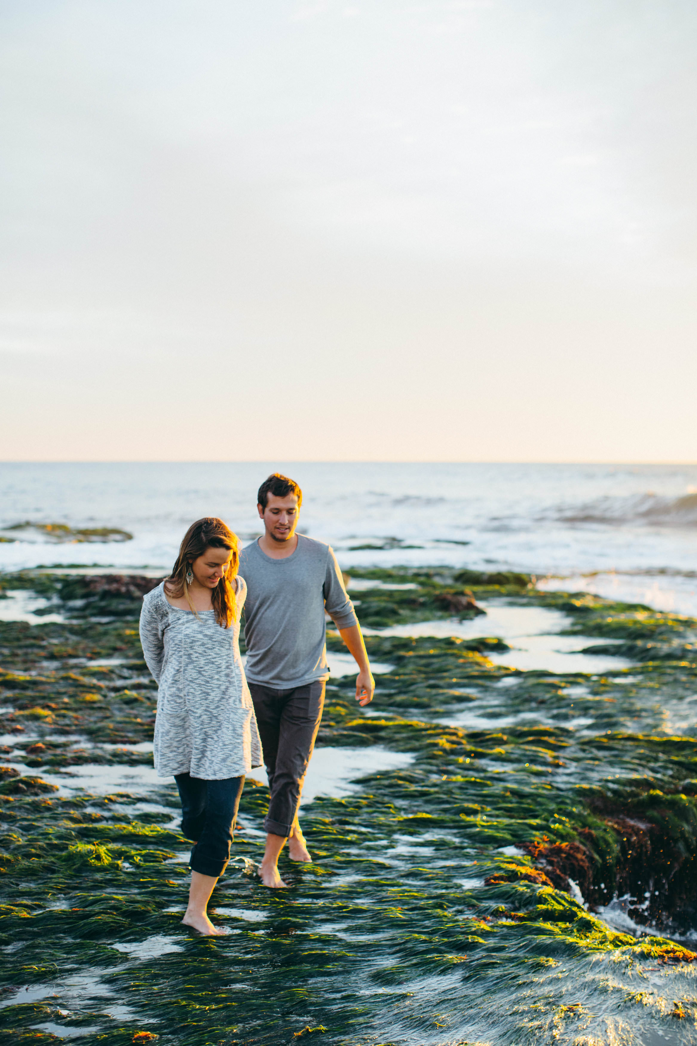 Windansea Beach, La Jolla Couple Session Shoot