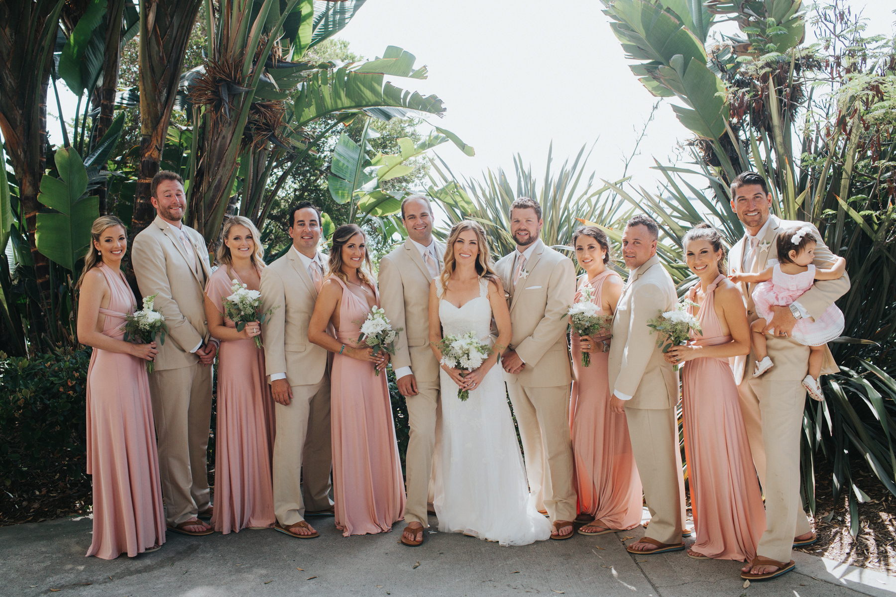 Hotel Laguna Beach Wedding Bridal Party