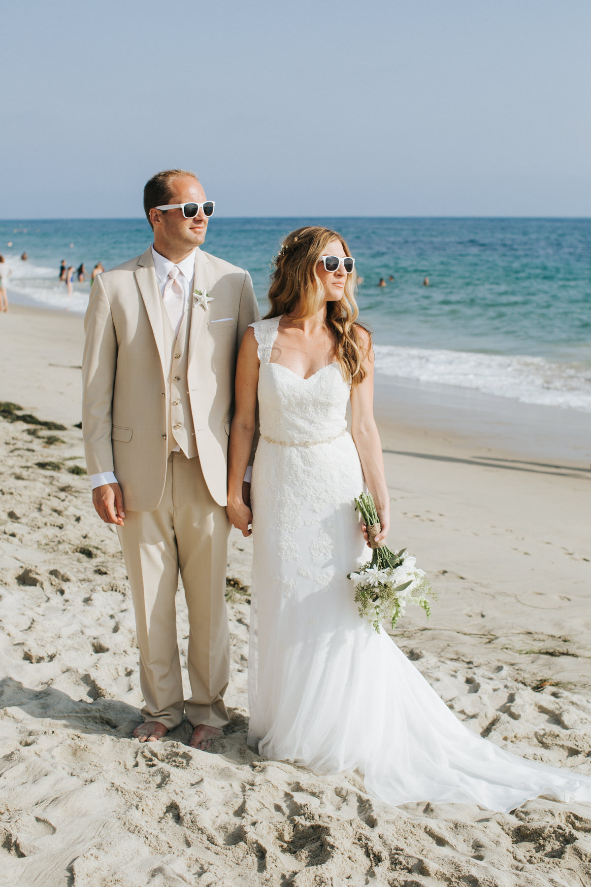 Hotel Laguna Beach Wedding Bride Groom