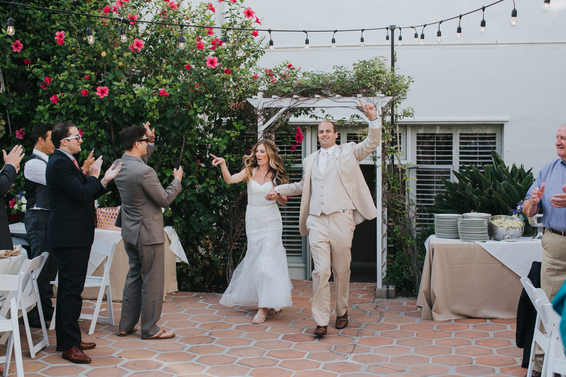 Hotel Laguna Beach Wedding Reception