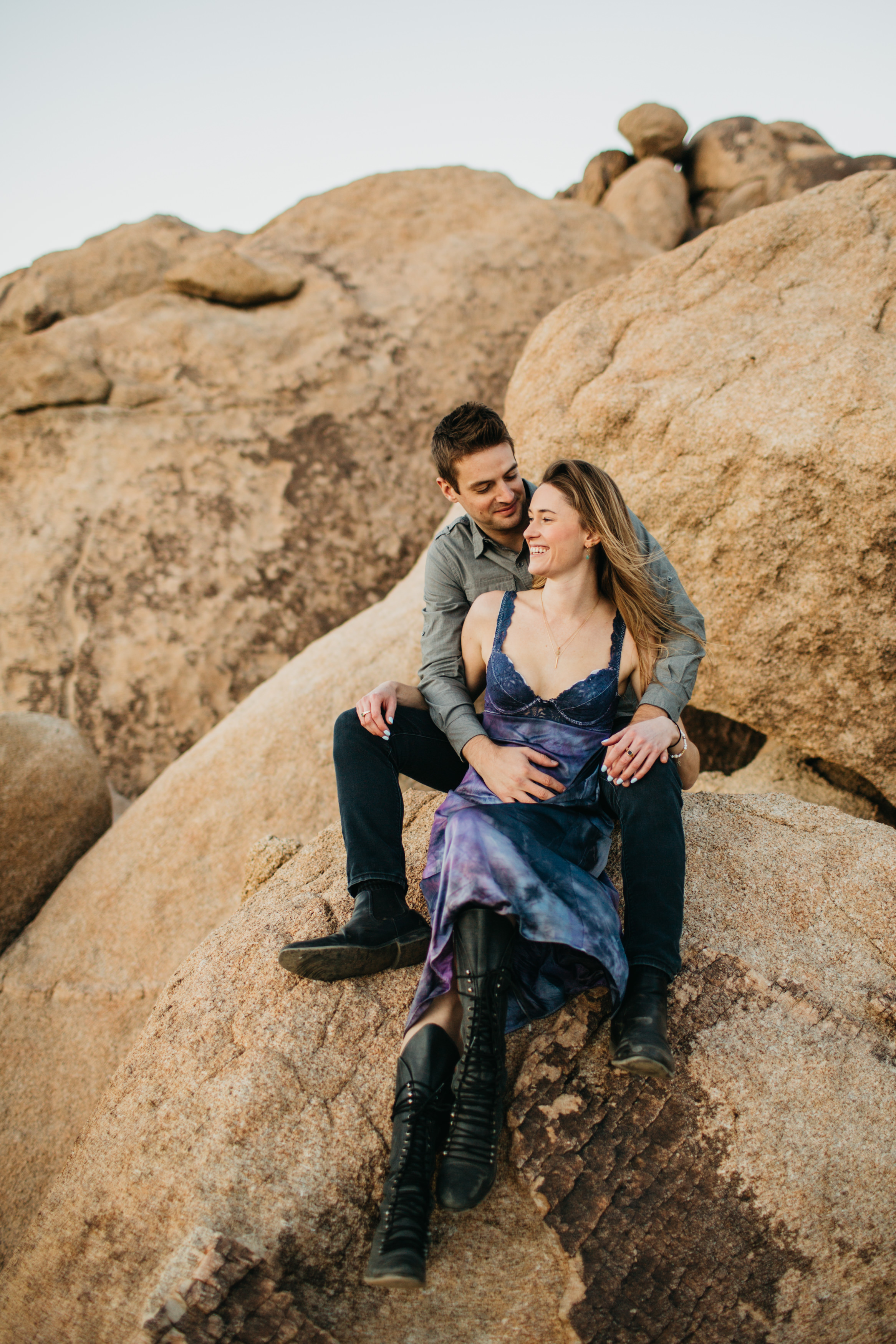 Joshua Tree National Park Elopement Love Engagement