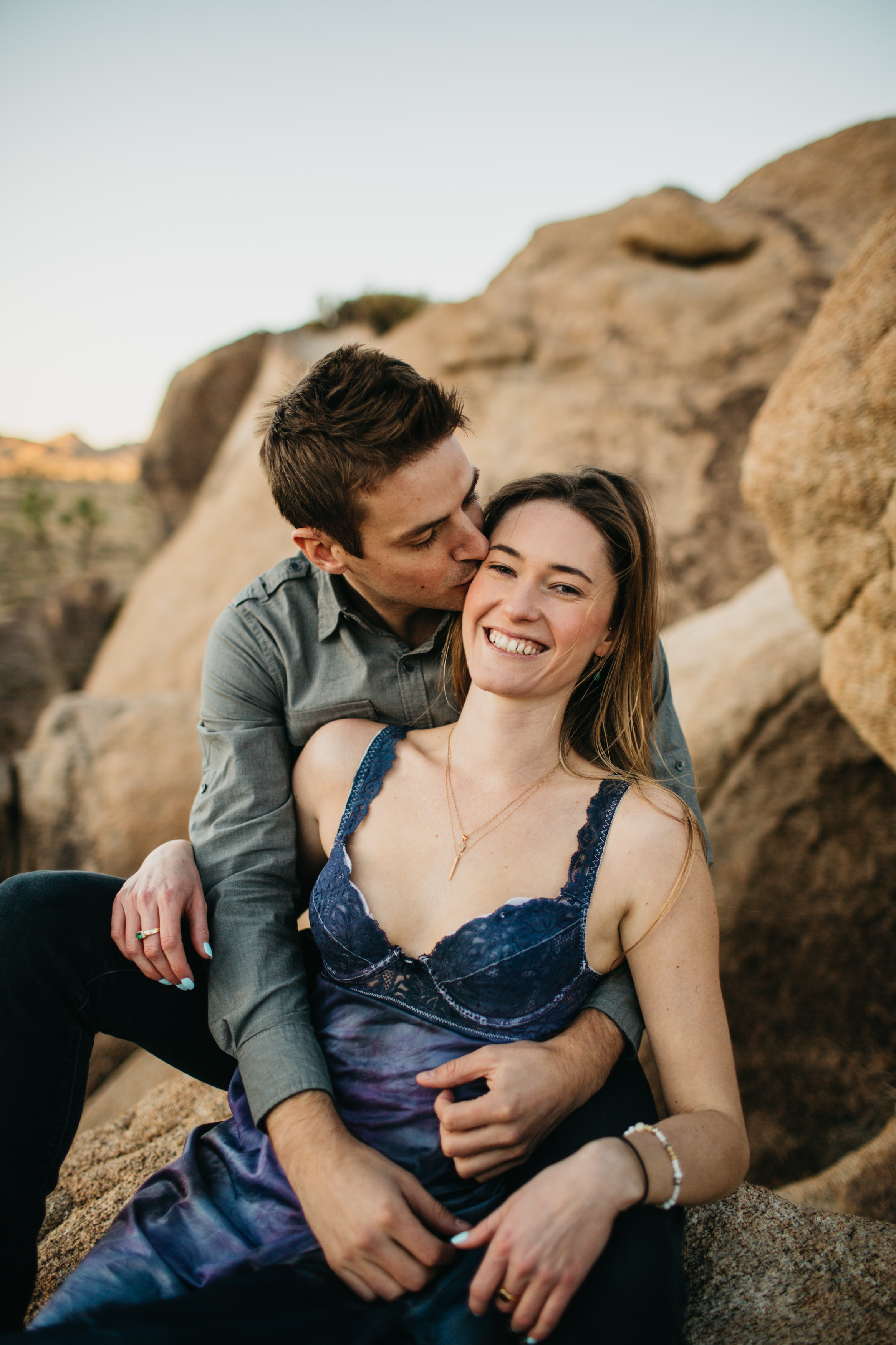 Joshua Tree National Park Elopement Love Engagement Martina Micko Photo