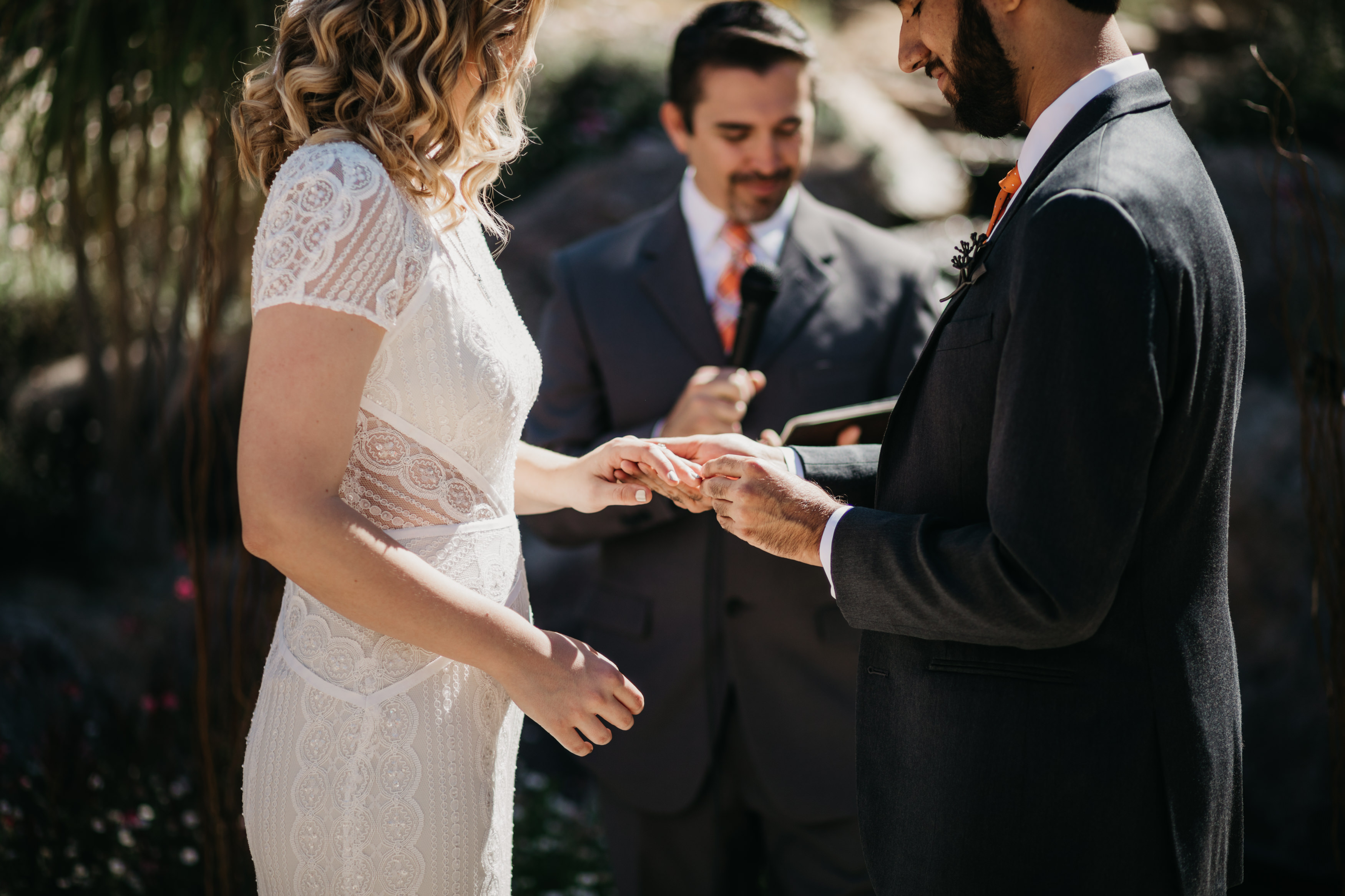 The Living Desert Palm Springs Botanical Garden Wedding Elopement - Martina Micko Photo