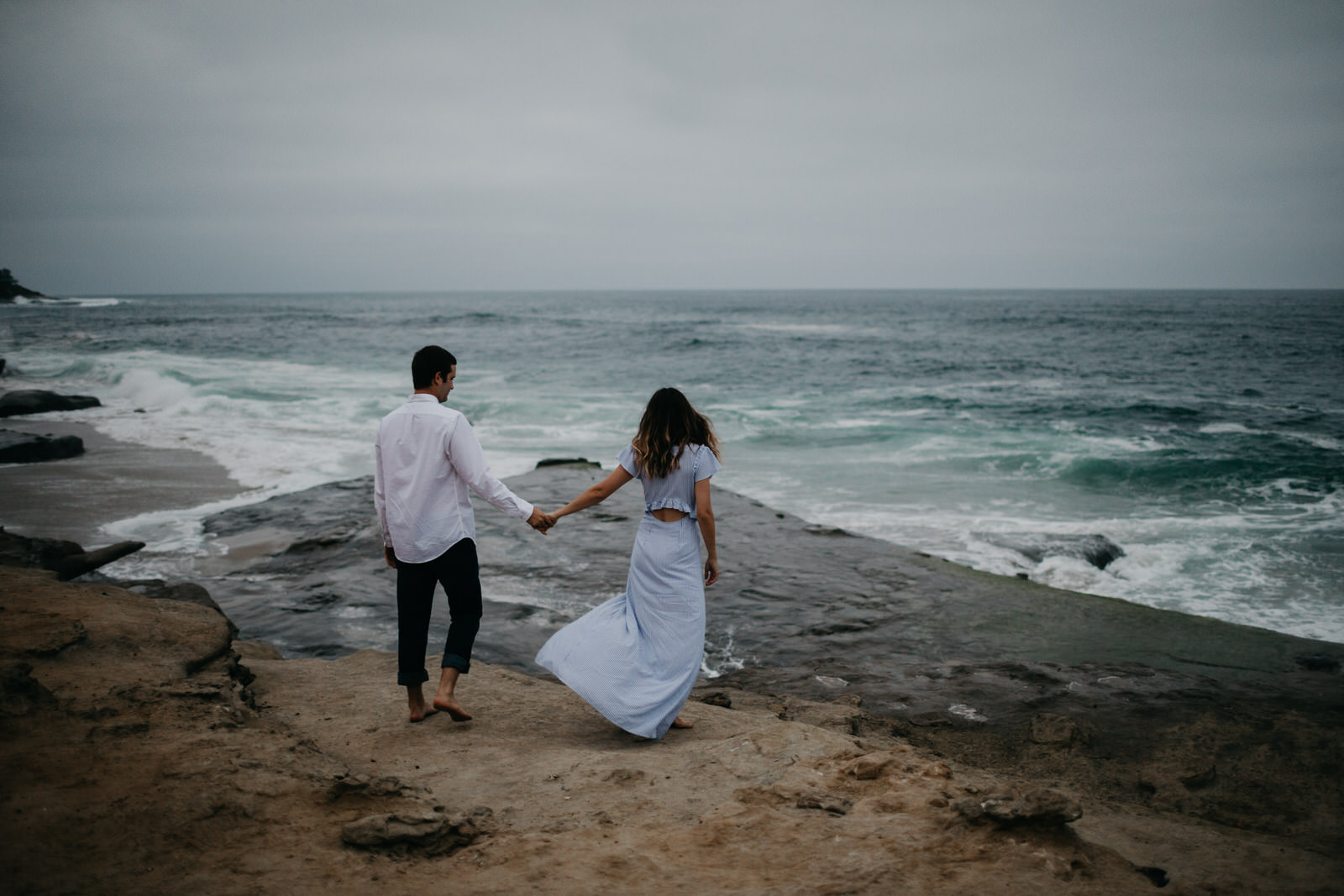 Widnansea Beach, La Jolla Engagement Shoot