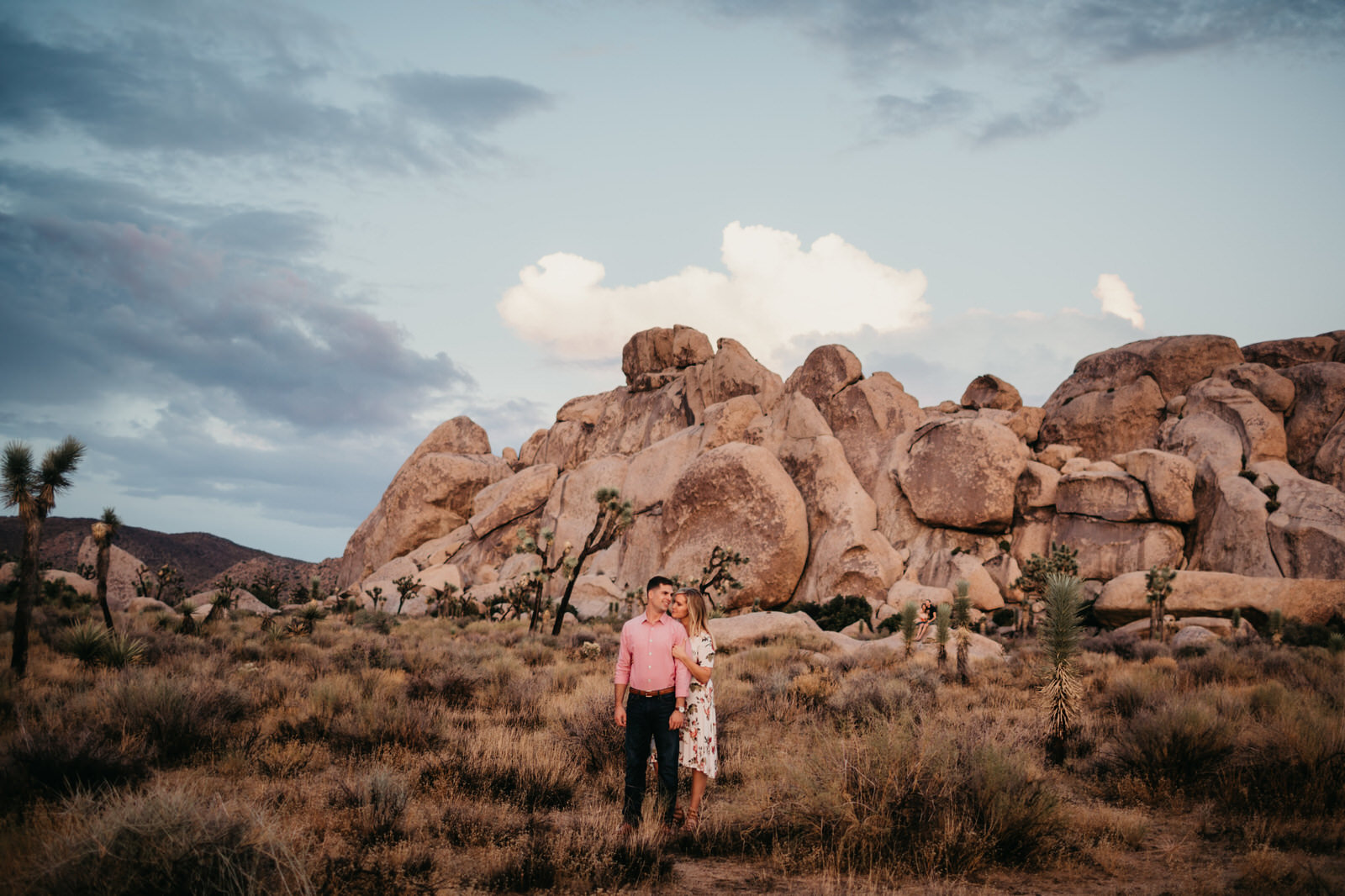 Joshua Tree Engagement Session Elopement Palm Springs Wedding Photographer
