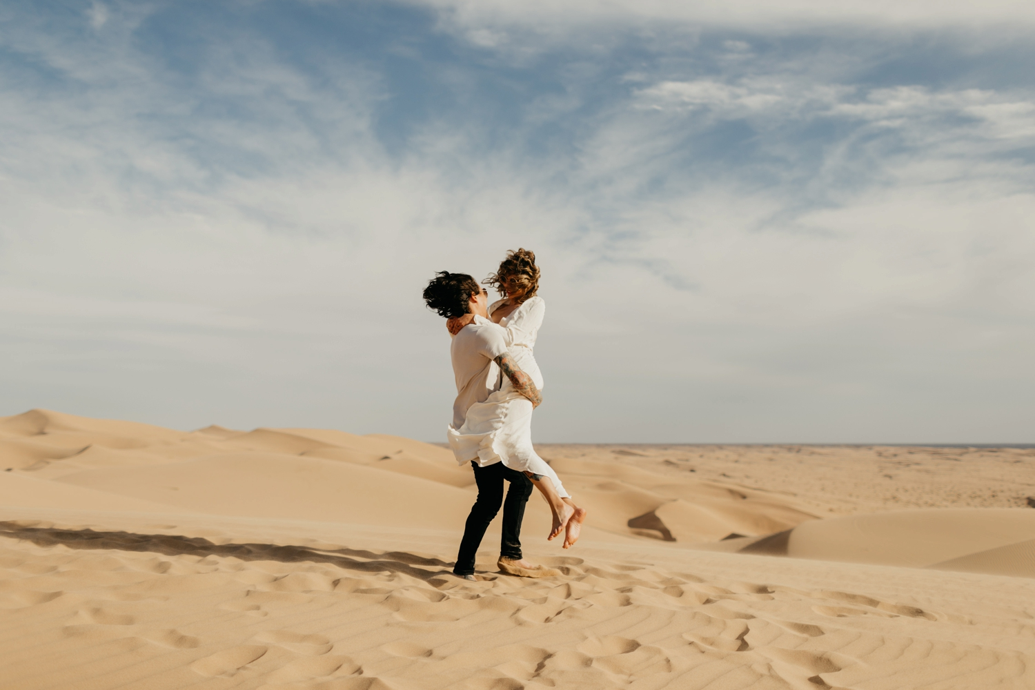 engagement shoot in Morocco